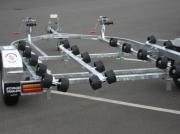 Voyager Double Jet Ski Trailer - Multi Roller