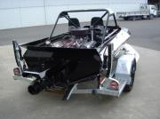 Jet Sprint Boat Trailer (Rear)