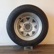 155-R13-Tyre-on-13quot-Galvanised-Rim